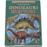 Sa cunoastem lumea impreuna! Dinozauri erbivori (Set 16 cartonase cu imagini color si texte informatice) de Silvia Ursache
