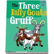 The Three Billy Goats Gruff de Tarantula Tales - Editie in limba englez