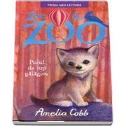 Zoe la zoo. Puiul de lup galagios, de Amelia Cobb (Prima mea lectura)