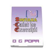 Sintaxa - Caiet de exercitii