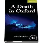 A Death in Oxford Starter/Beginner de Richard MacAndrew