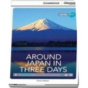 Around Japan in Three Days High Beginning Book with Online Access - Simon Beaver