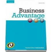 Business Advantage. Intermediate Teacher's Book de Jonathan Birkin