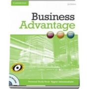 Business Advantage. Upper-intermediate Personal Study Book with Audio CD de Joy Godwin