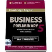 Cambridge English Business. 5 Preliminary Self-study Pack (Student's Book with Answers and Audio CD)