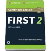 Cambridge English First 2 Student's Book with Answers and Audio (Authentic Examination Papers)