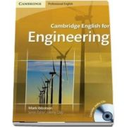 Cambridge English for Engineering Student's Book with Audio CD - Mark Ibbotson