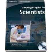 Cambridge English for Scientists Student's Book with Audio CD - Tamzen Armer