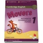 Cambridge English Movers 1 for Revised Exam from 2018 Student's Book: Authentic Examination Papers