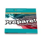 Cambridge English Prepare! Level 3 Class Audio CD