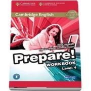 Cambridge English Prepare! Level 4 Workbook with Audio - Niki Joseph
