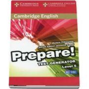 Cambridge English Prepare! Test Generator Level 5 CD-ROM de Helen Tiliouine