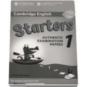 Cambridge English Starters 1 for Revised Exam from 2018 Answer Booklet: Authentic Examination Papers