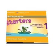 Cambridge English Starters 1 for Revised Exam from 2018 Audio CD - Authentic Examination Papers from Cambridge English Language Assessment