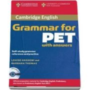 Cambridge Grammar for PET Book with Answers and Audio CD - Self-Study Grammar Reference and Practice