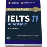 Cambridge IELTS 11 Academic Student's Book with Answers with Audio - Authentic Examination Papers