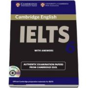 Cambridge IELTS 6 Self-study Pack - Examination Papers from University of Cambridge ESOL Examinations
