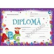 Diploma - Format A4, model ABC