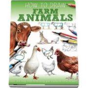 Farm Animals de Jennifer Bell (How to draw)