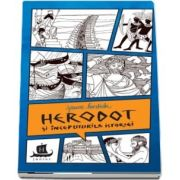 Herodot si inceputurile istoriei - Cu desenele autoarei de Jeanne Bendick - Traducere de Adina Cobuz