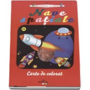 Nave spatiale - Carte de colorat (Sa coloram cu Nicol)