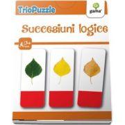 TrioPuzzle - Succesiuni logice. Activitati de dezvoltare a gandirii logice (Contine 60 de carduri)