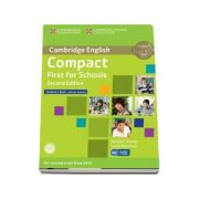 Compact First for Schools Student's Book without Answers with CD-ROM - Laura Matthews, Barbara Thomas