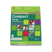 Compact First Student's Book without Answers with CD-ROM with Testbank - Peter May