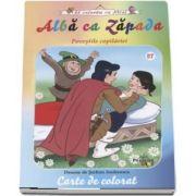 Alba ca zapada - Povestile copilariei (Carte de colorat)