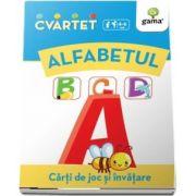 Alfabetul - Carti de joc si invatare - Colectia Cvartet 4-6 ani