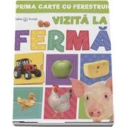 Bebe invata - Vizita la ferma. Prima carte cu ferestruici