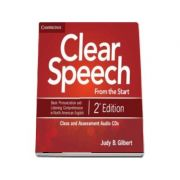 Clear Speech from the Start Class and Assessment Audio CD - Basic Pronunciation and Listening Comprehension in North American English (Judy B. Gilbert)