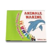 Coloram si invatam! - Animale marine