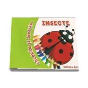 Coloram si invatam! - Insecte