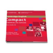 Compact Preliminary for Schools Class Audio CD - Amanda Thomas and Sue Elliott