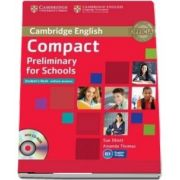 Compact Preliminary for Schools Student's Book without Answers with CD-ROM - Amanda Thomas and Sue Elliott