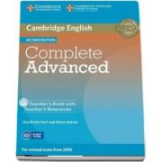 Complete Advanced Teacher's Book with Teacher's Resources CD-ROM (Simon Haines)