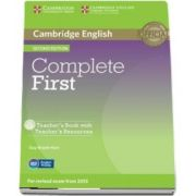 Complete First Teacher's Book with Teacher's Resources CD-ROM (Guy Brook Hart)