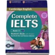 Complete IELTS Bands 4-5 Student's Pack (Student's Book with Answers with CD-ROM and Class Audio CD) - Guy Brook-Hart, Vanessa Jakeman