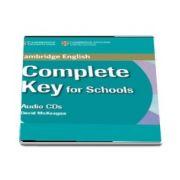 Complete Key for Schools Class Audio CD (David McKeegan)