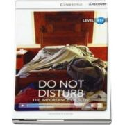 Do Not Disturb - The Importance of Sleep High Beginning Book with Online Access - Genevieve Kocienda