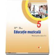 Educatie muzicala, manual pentru clasa a V-a - Florentina Chifu si Petre Stefanescu (Contine CD cu editia digitala)