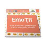Emotii - Joc de dezvoltare a gandirii logice si de recunoastere a emotiilor - Colectia Domino - Varsta recomandata: 3 - 5 ani