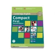 Compact First Student's Book without Answers with CD-ROM (Peter May)