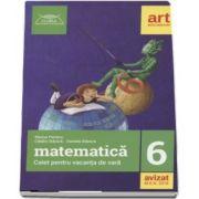 Matematica caiet pentru vacanta de vara clasa a VI-a. Colectia - clubul matematicienilor - Marius Perianu - Editia 2018