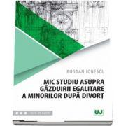 Mic studiu asupra gazduirii egalitare a minorilor dupa divort de Bogdan Ionescu