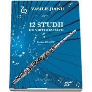 12 studii de virtuozitate, Pentru flaut de Vasile Jianu