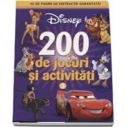 200 de jocuri si activitati - 96 de pagini de distractie garantata! - Disney