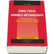 Codul fiscal si Normele metodologice. Actualizat la 28 iunie 2018