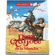 Don Quijote de la Mancha. Editie bilingva engleza-romana - Miguel Cervantes